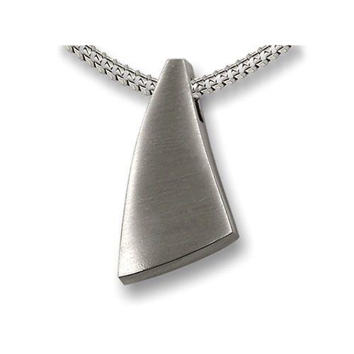 Ashanger zeil van een schip - 925 Sterling zilver