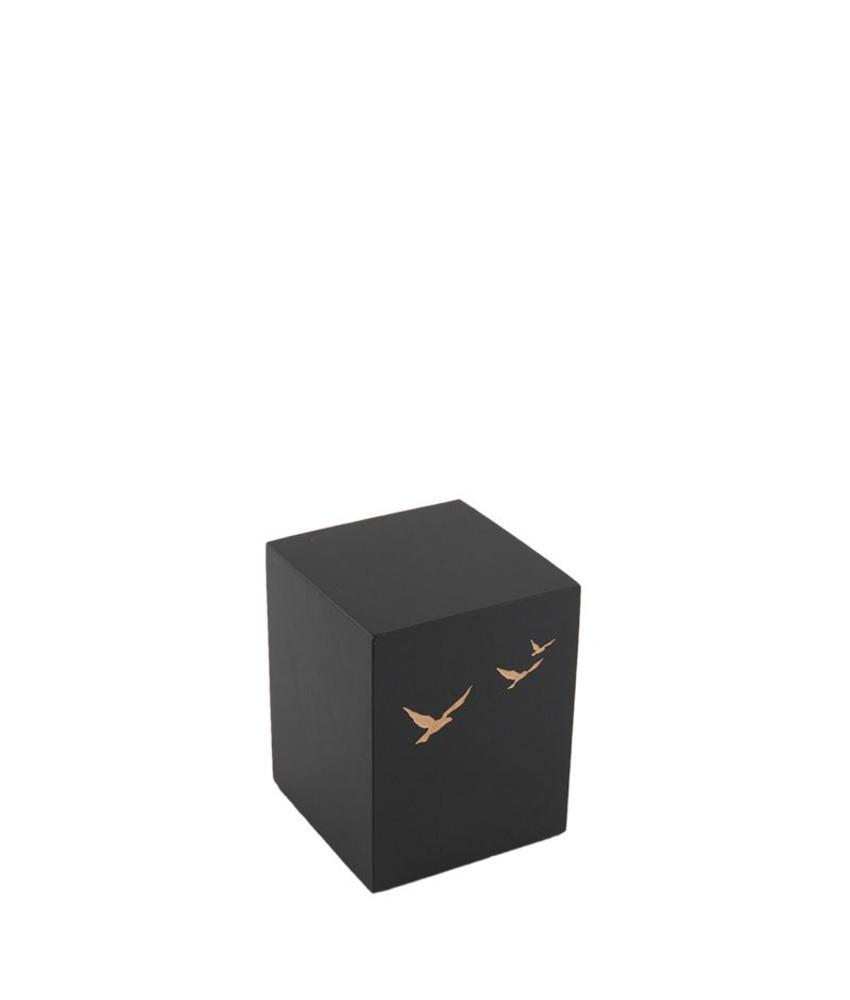 Mini urn vliegende vogels - leisteen