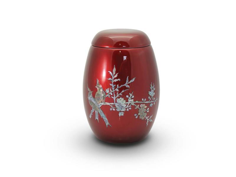 Rood lente tafereel - glasfiber