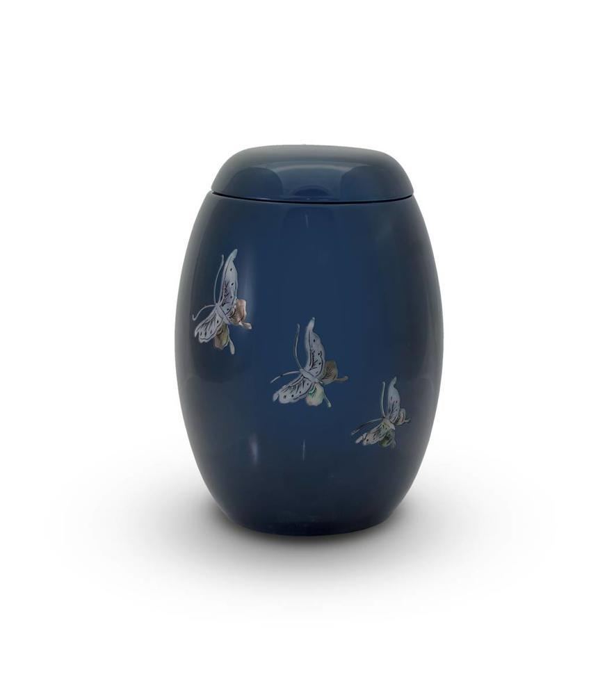 Blauwe lente vlinders - glasfiber