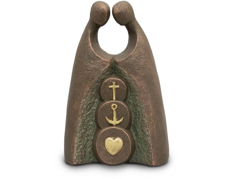 Geloof, hoop en liefde - keramiek