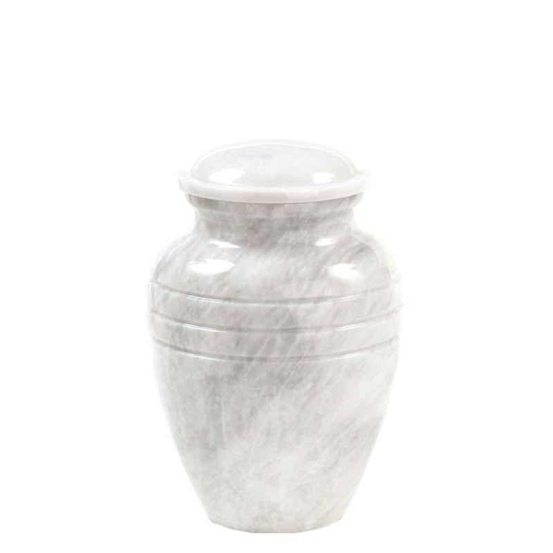 Urn wit - marmer