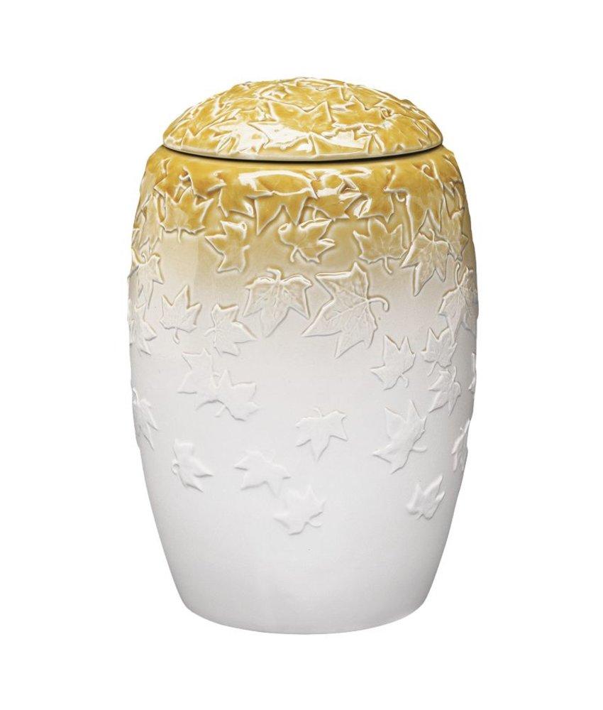 Herfstsfeer urn - porselein