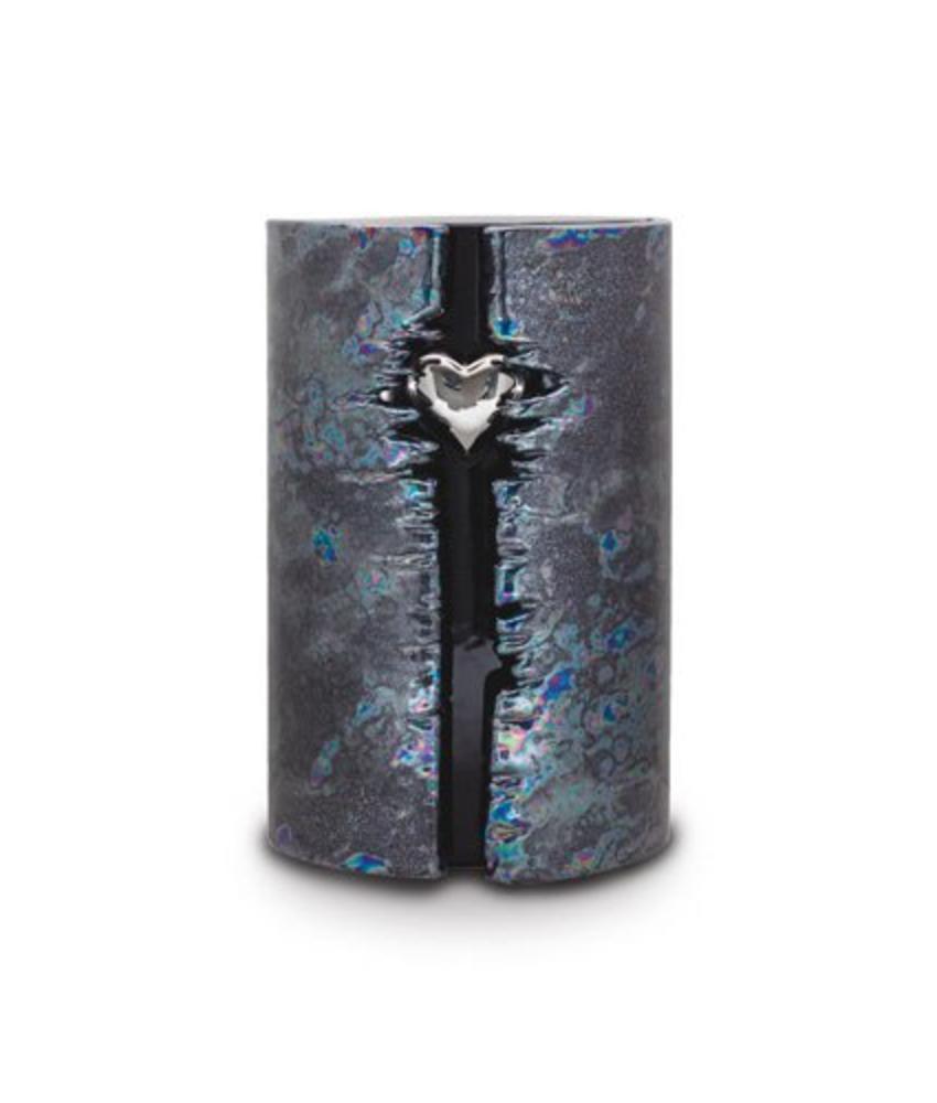 Eos da vita blauw - urn met led - keramiek