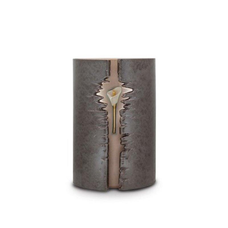 Eos da vita bruin - urn met led - keramiek