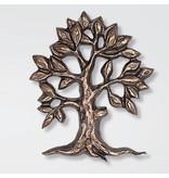 Bronzen Levensboom 'open' groot - brons