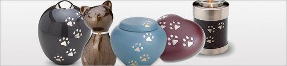 Alle Dieren urnen