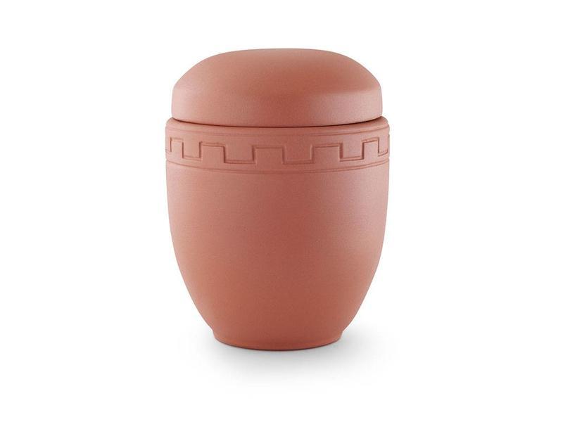 Romeinse urn in matrood - keramiek