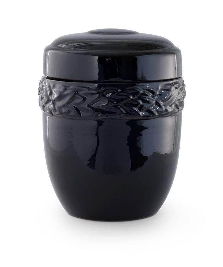 Lauwerkrans urn - keramiek