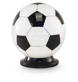 Kinder urn voetbal wit en zwart - messing