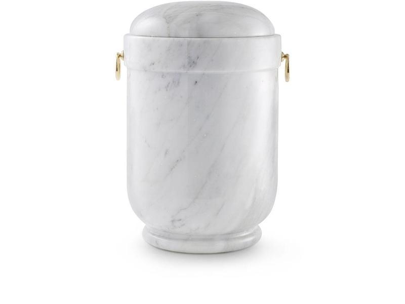 Moderne asbus wit - marmer