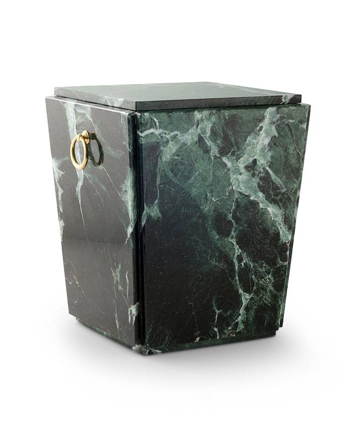 Sarcofaag urn trento serpentino - marmer
