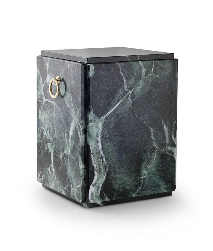 Sarcofaag urn groen zwart - marmer