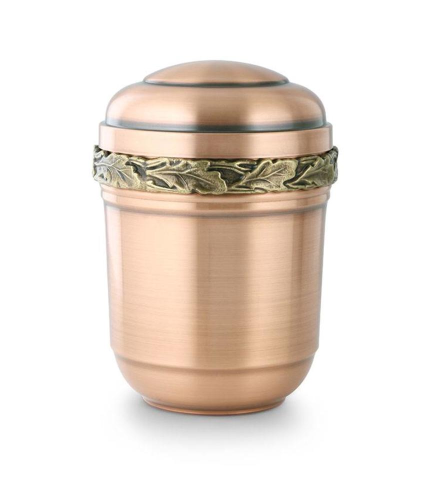 Eikenblad urn - koper