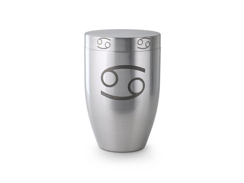 Kreeft urn - messing
