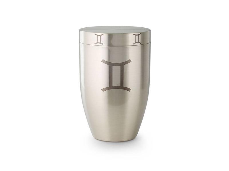 Tweeling urn - argentaan