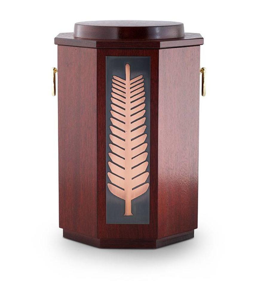 Mahagony urn - hout