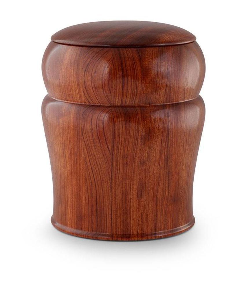 Rozenhout urn - hout
