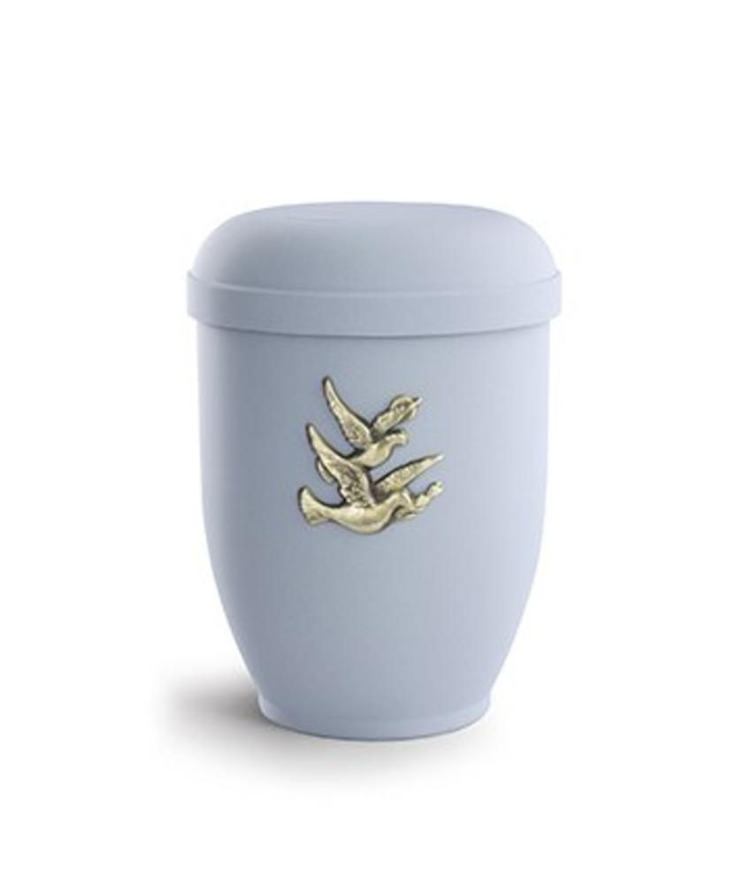 Zwerm vogels urn - bio