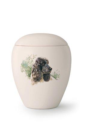 Hondenurn Cockerspaniël - keramiek