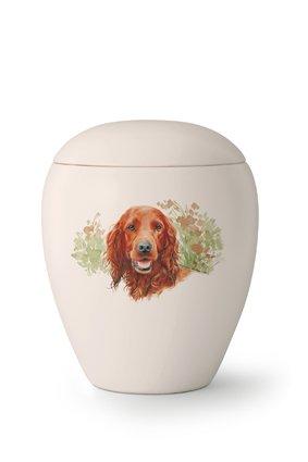 Hondenurn Setter - keramiek