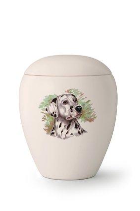 Hondenurn Dalmatiër - keramiek