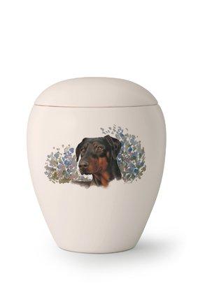 Hondenurn Dobermann I - Keramiek