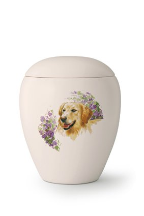 Hondenrun Golden Retriever - keramiek
