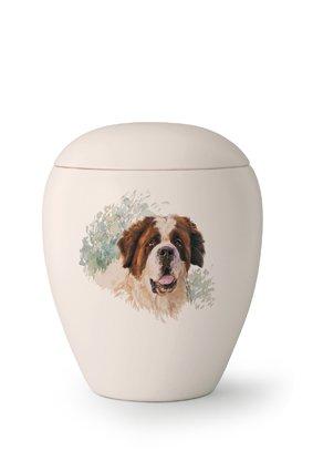 Hondenurn Sint-Bernard - keramiek