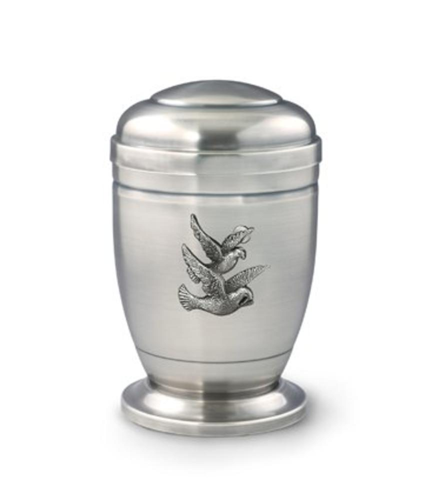 Vogelvrij urn - koper