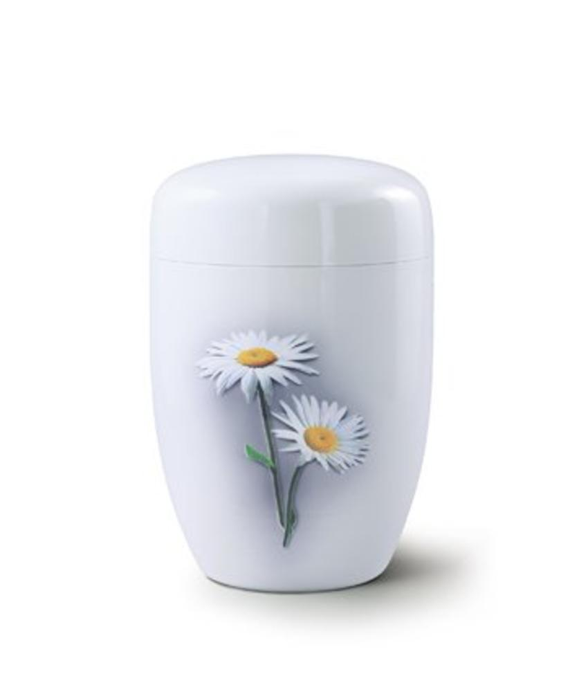 Margrietjes wit - staal