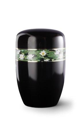 Waterlelies zwart - staal