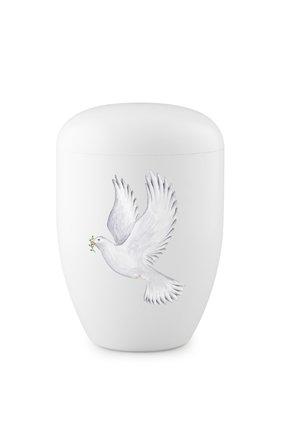 Eco urn wit duif - bio