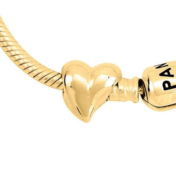 Asbedel hart - goud