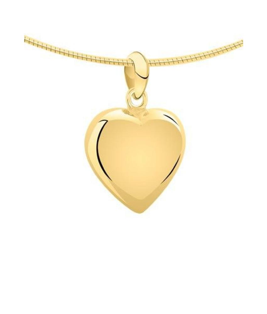 Ashanger hart klein - goud