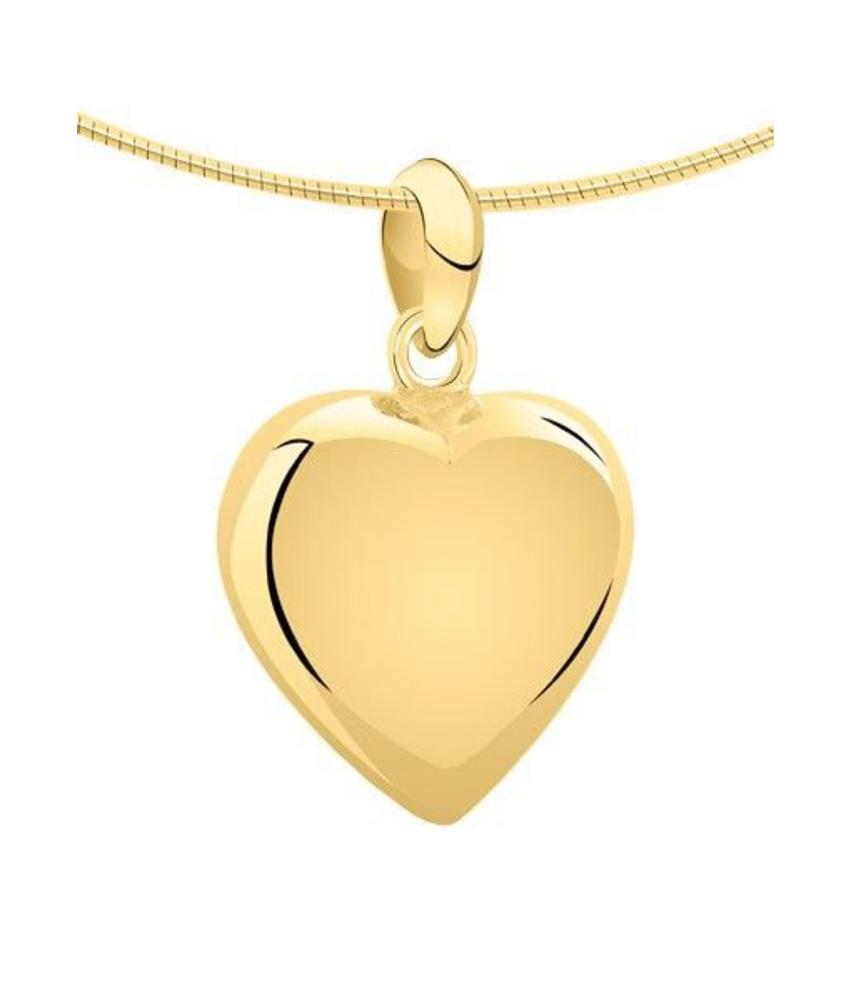 Ashanger hart medium - goud