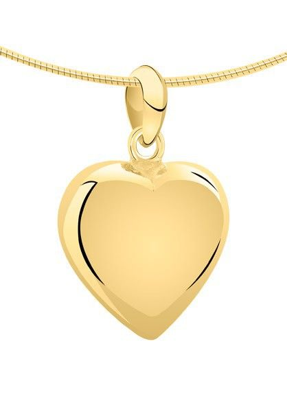 Ashanger hart medium - goud