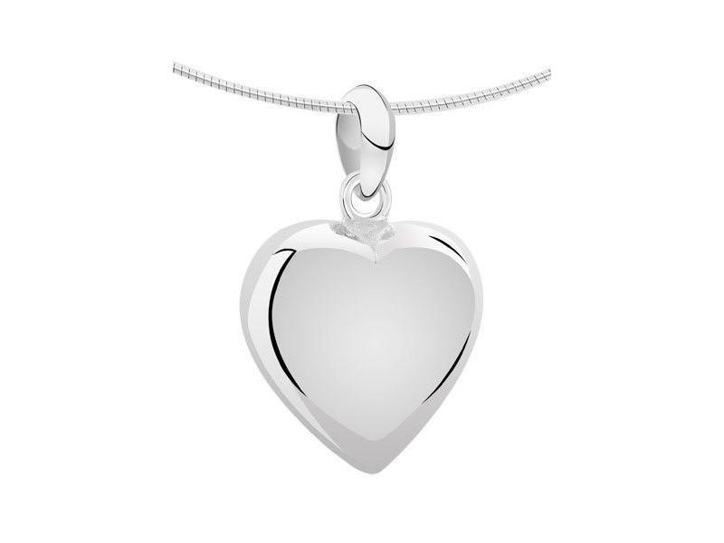 Ashanger hart groot - zilver