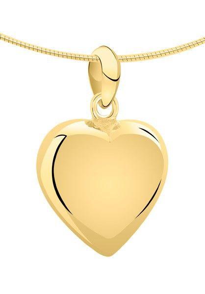 Ashanger hart groot - goud