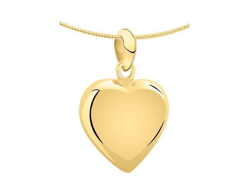 Ashanger hart XL - goud