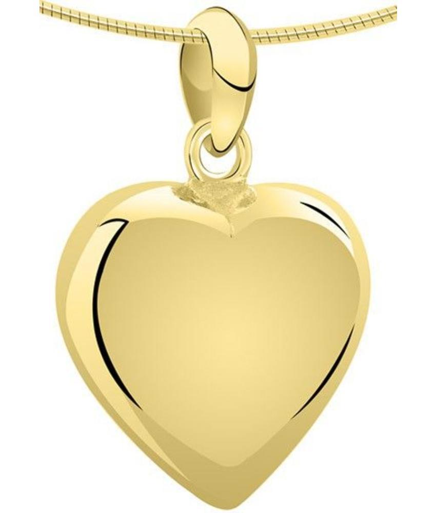 Ashanger hart XXL - goud