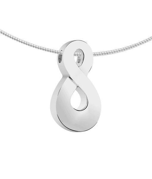 Ashanger infinity - zilver