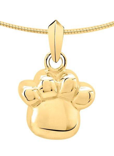 Ashanger poot - goud