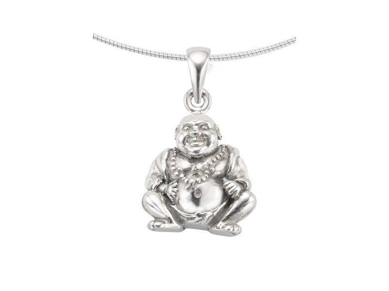 Ashanger buddha - zilver