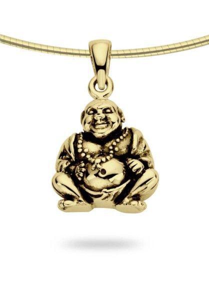 Ashanger buddha - goud