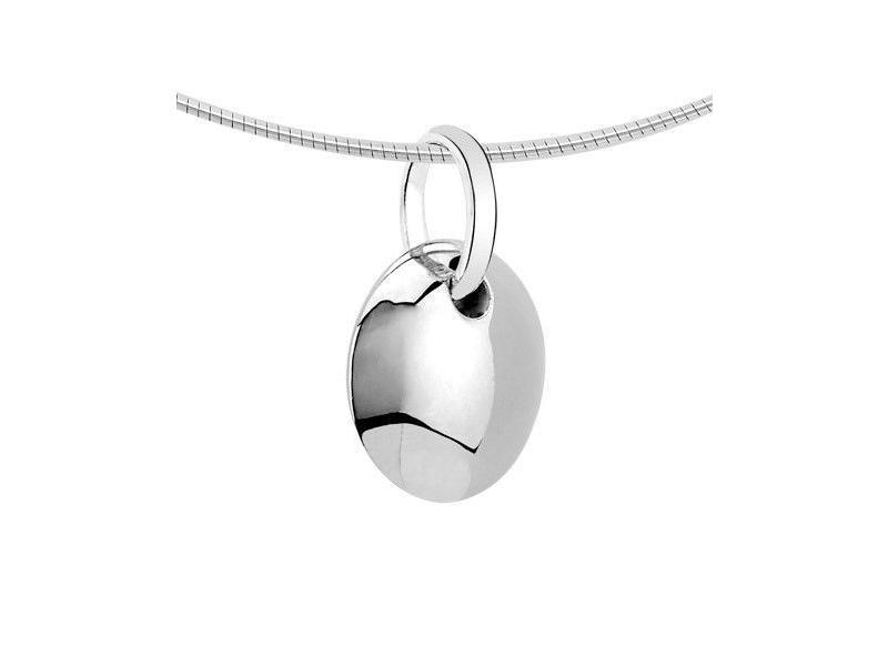 Ashanger rond - zilver