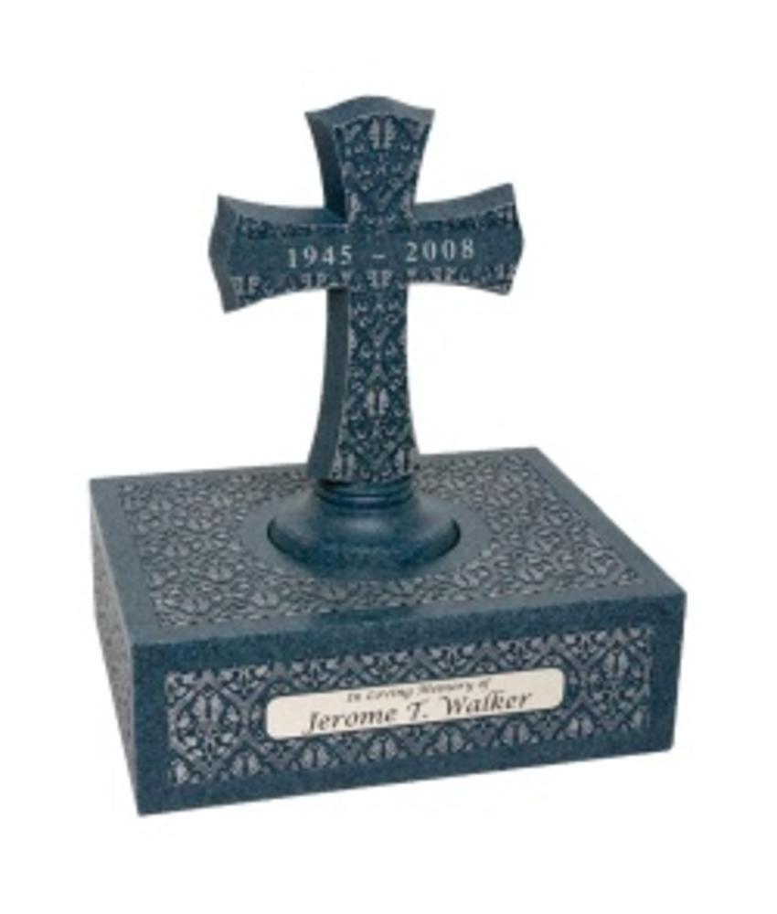 Eternity tanzanite urn klein - polyresin