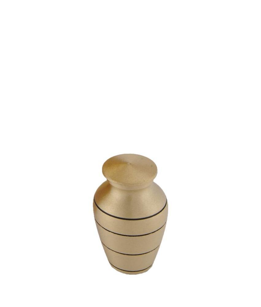 Mini urn bronze - messing