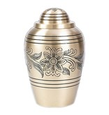 Bouquet urn groot- messing
