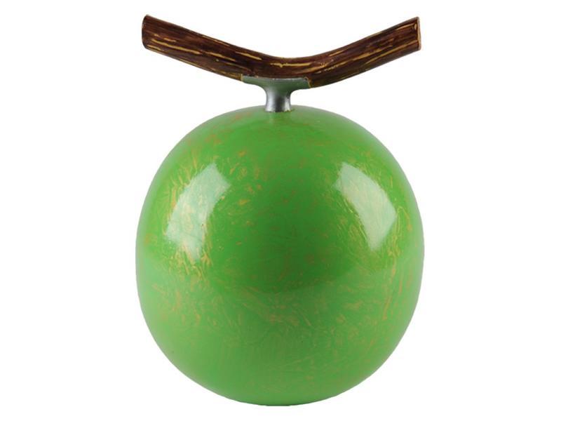 Fruitful urn appel groot - polyresin